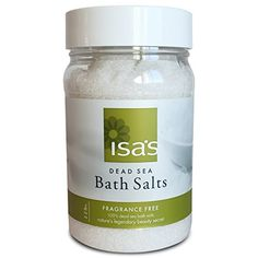 Soothing Dead Sea Salt  Best in Baths for Muscle  Joint Relief Professional Grade  Pure and Natural Mineral Treats Psoriasis Eczema Arthritis Dermatitis  Acne  100 Certified Salts 22 lbs ** Check this awesome product by going to the link at the image.