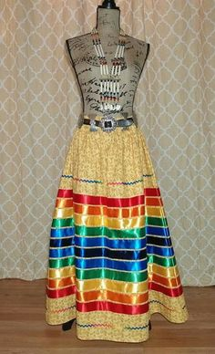 Native Style, Native Art, Native American Clothing, Ribbon Skirts, Long Skirts For Women, Cooking 101, Ribbon Art, Girls Dresses, Summer Dresses