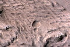Huge New Mars Crater Found by NASA Spacecraft (Photos)