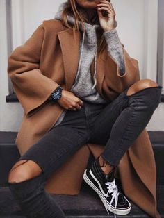 Trendy Winter Fashion Ideas Outfits 2019 Outfits casual Outfits for moms Outfits for school Outfits for teen girls Outfits for work Outfits with hats Outfits women Winter Fashion Casual, Casual Winter Outfits, Fall Outfits, Autumn Fashion, Casual Fall, Sweater Outfits, Fashion Spring, Sweater Shirt, Brunch Outfit