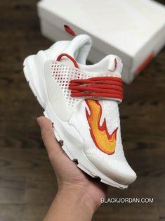 9c2e36b1e8821f Nike Sock Dart Kjcrd Triple White Running Shoes 819686-100 White Red Orange  New Release