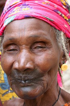 Old woman, Mali by Karin.Lakeman, via Flickr