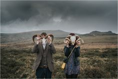 A Dramatic, Dartmoor Engagement Shoot // Photos by Clare Kinchin // As featured on www.mrandmrsunique.co.uk