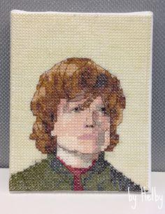 Tyrion portrait stitch