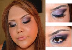 Midnight Butterfly  Kat Von D Chrysalis Palette Makeup Look
