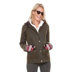 [[start tab]]DETAILSBarbour's Convoy Wax jacket is based on the original Barbour Ursula jacket, which was commissioned in the 1940s by submarine command...