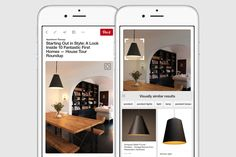 Sometimes you spot something you really love on Pinterest, but you don't know how to find it in real life, or what it's even called. There's that perfect lamp hiding in a Pin of someone's living room, or maybe a random street style shot with the exact shoes you're looking for. Well, now we've got a new tool that lets you find all those things you don't have the words to describe.