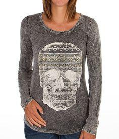 """""""Daytrip Skull T-Shirt"""" www.buckle.com"""