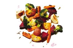 Roasting vegetables is the easiest way to transform them into something extraordinary. Vegetable Base Recipe, Vegetable Recipes, Vegetarian Recipes, Healthy Recipes, Roasted Vegetables, Fruits And Veggies, College Cooking, Home Food, Healthy Food Choices