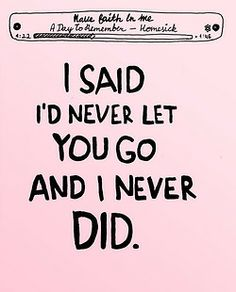 Have Faith in Me ♥ -A Day to Remember *fangirlish squeals* I love this song with all my heart!