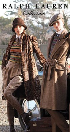 Tweed ralph lauren