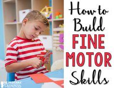 The Printable Princess: Developing Fine Motor Skills