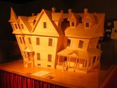 House made out of matchsticks