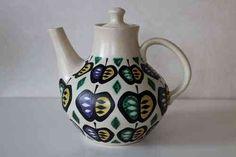 Ceramic Pottery, Scandinavian Design, Metallica, Finland, Crates, Tea Pots, Retro, Tableware, Vintage