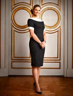 On the occasion of her 36th birthday on July 14, 2013, the Swedish Royal Family posted this official portrait of Crown Princess Victoria on its Facebook page.