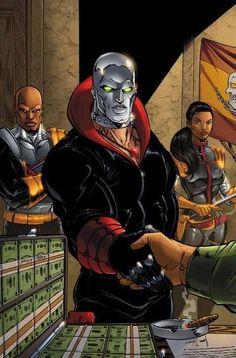 Cobra Commander's right hand man, Destro.
