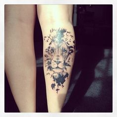 tattoo lion tumblr - Buscar con Google