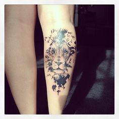 tattoo lion tumblr - Buscar con Google