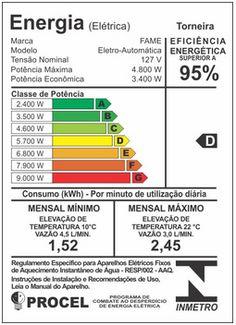 Torneira Elétrica Fame 3 Temperaturas 127V