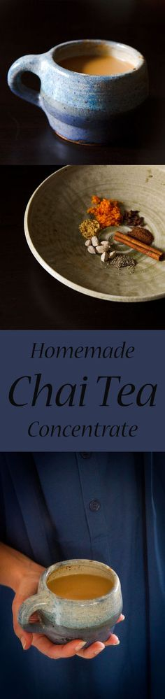 Make your own Homemade Chai Tea concentrate & a recipe for a Dirty Chai Bourbon Cocktail