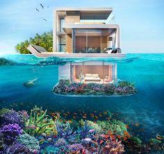 The Floating Seahorse Villas with Underwater Bedroom