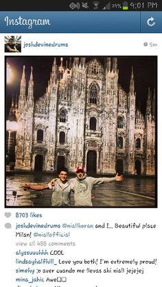 Josh and Niall