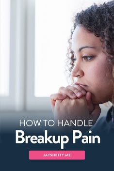 Want to know how to move on after a breakup? Jay Shetty shares tips and advice to help you heal from the pain of a broken heart and how you can see it as an opportunity for growth and development. Learn how to rebuild your confidence with the 7 ways your break up doesn't have to break you. Text Jay Shetty 310-997-4177. #jayshetty #brokenheart #healing #breakup #relationship Negative Thinking, Negative Thoughts, Moving On After A Breakup, How To Move Forward, Ending A Relationship, After Break Up, Positive Motivation, Hurt Feelings, Hard Times