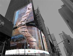 7 vallas publicitarias interactivas que se quedarán pegadas como lapas a sus ojos