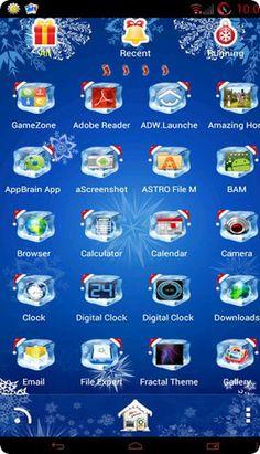 icons for christmas theme
