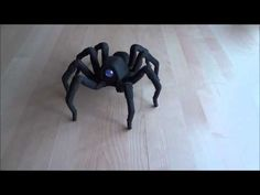 AHHHHHH!!! AHHHHHHHHHHHHHHH!!!!! AHHHHHHH--Awwww, lookit it dance! This Robotic Spider is Way Cuter than it Has Any Right to Be