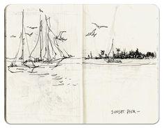 Marc Taro Holmes - The Hand Drawn Snapshot
