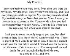 To My Princess