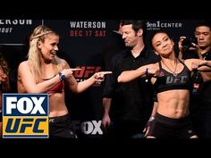 Paige VanZant and Michelle Waterson have a dance-off at their weigh-in | UFC FIGHT NIGHT