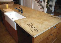 Custom Concrete Countertops - ideas
