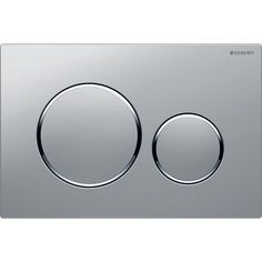 Geberit flush plate for dual flush