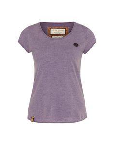 naketano T-Shirt ´Ballad No.1 IV´ burgunder