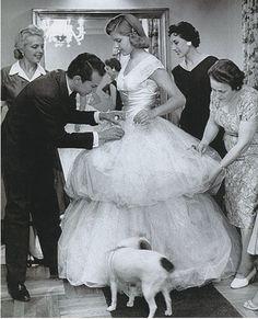 Oscar de la Renta's first dress   AnOther Loves