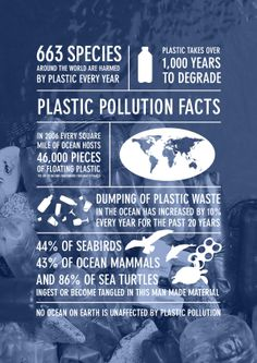 Plastic Pollution is killing the ocean and ocean sea life. You can help stop it. Ocean Pollution Facts, Plastic Pollution Facts, Water Pollution Quotes, Save Mother Earth, Save Our Earth, Conservative Quotes, Ocean And Earth, Ocean Cleanup, Earth Quotes