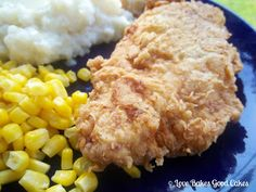 Love Bakes Good Cakes: Southern Fried Chicken