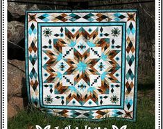 Taos Quilt Pattern by Whirligig Designs WD-TBOM