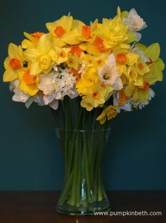 Beautiful, British Grown Flowers for Valentine's Day and Mother's Day 2017 - Pumpkin Beth Flowers For Valentines Day, Mothers Day Flowers, Cut Flowers, Sustainable Living, Daffodils, Stuff To Do, Glass Vase, Pastel Shades, Spring