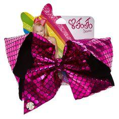 JoJo Siwa Pink Holographic Mermaid Signature Hair Bow