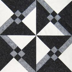 Tutorial Granny's Choice Quilt Block