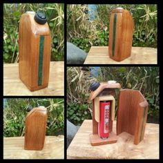 This is a Custom 100% hand made 18650 wood box mod it is currently for sell on ebay. Search Smod Mods on ebay to purchase this mod.