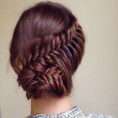Kreative Hochsteckfrisur Frisuren - #Frisuren, #Haare, #HochsteckfrisurFrisuren, #Hochsteckfrisuren, #Hochsteckfrisuren2016, #Hochzeitsfrisuren