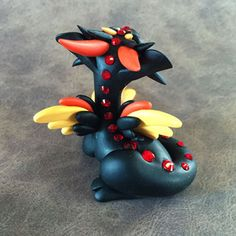 Fire-Angel-Dragon-Sculpture by Dragons and Beasties