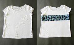 Lengthen a T-Shirt