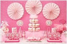 Pink Tulle Ballerina Birthday Party
