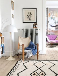 A comfy corner in a fab Copenhagen home / Another Ballroom - Karen Maj Kornum.