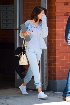 Selena Gomez leaving Her Apartment In New York